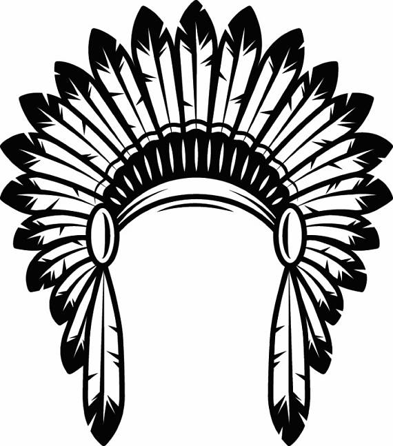 570x647 Indian Headdress