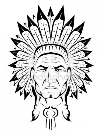 339x450 Indian Chief Stock Vectors, Royalty Free Indian Chief