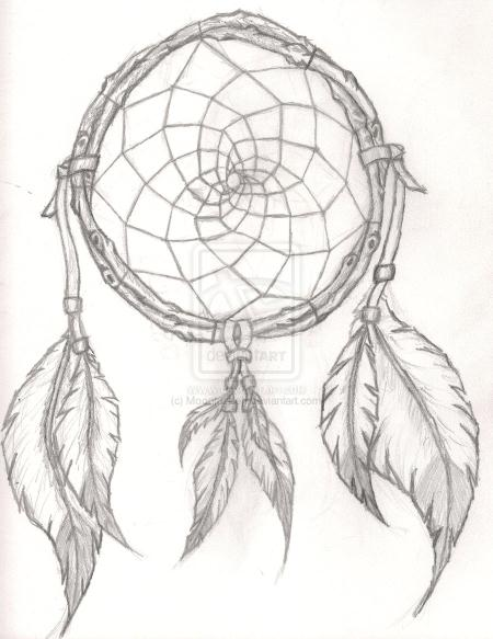 Indian feathers drawing at getdrawings free for personal use 450x583 dreamcatcher tattoo design in dreams we enter a world that is gumiabroncs Image collections