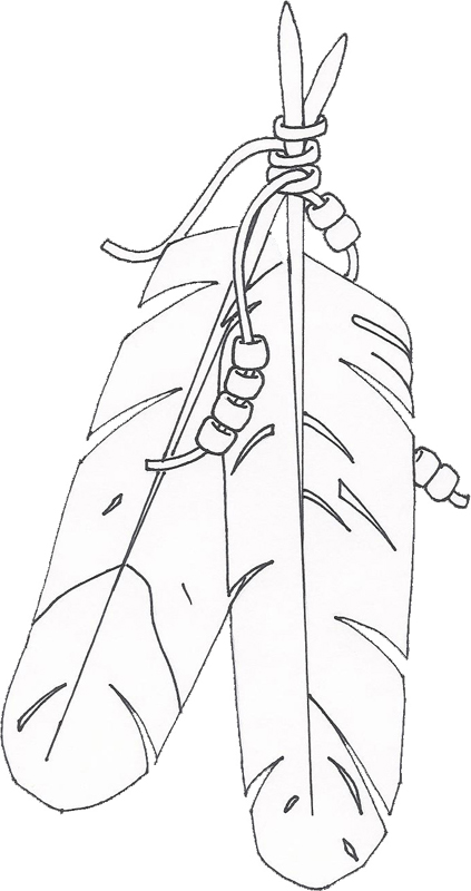 423x800 Embroidery Pattern From Pix For Gt Native American Eagle Feather