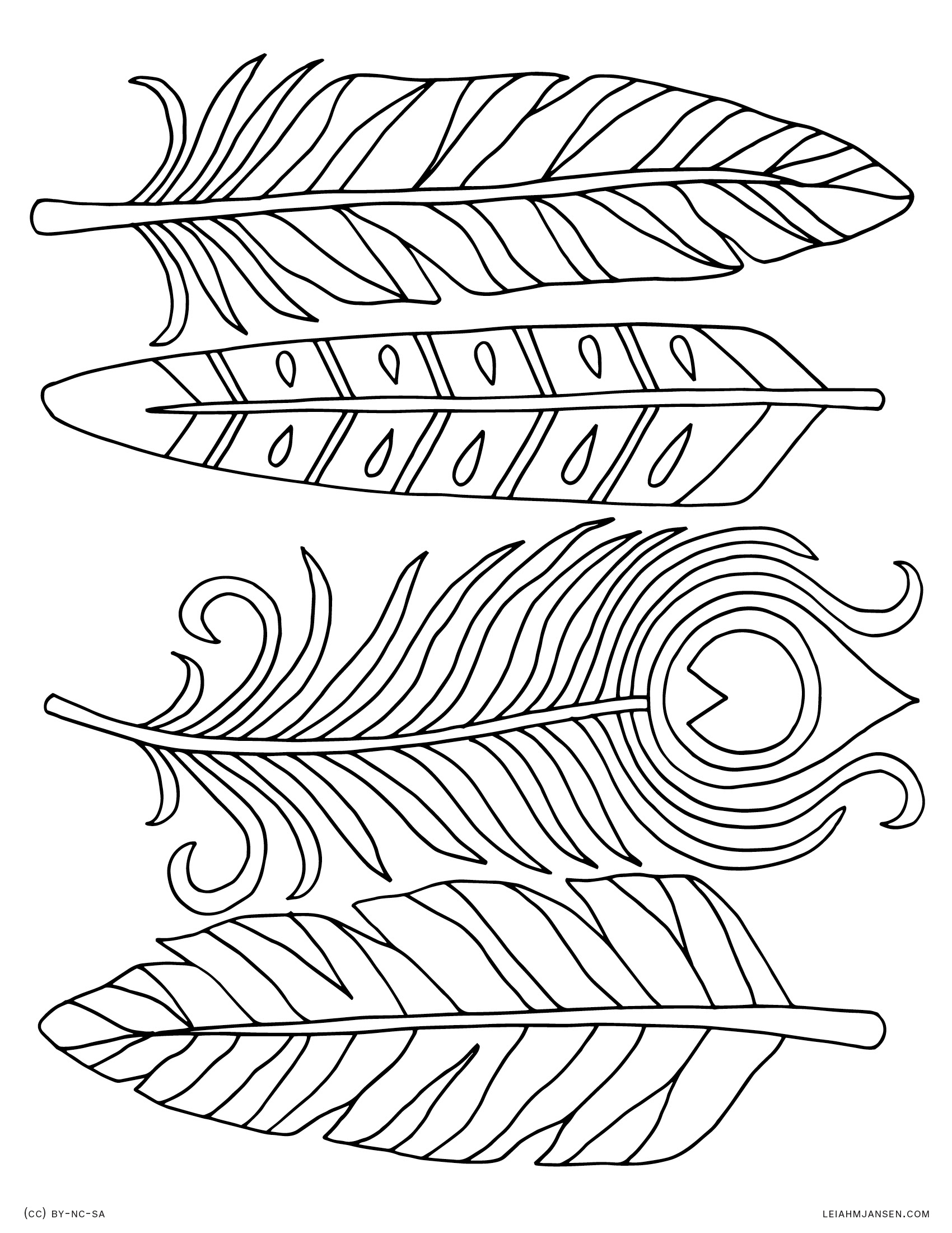 Indian Feathers Drawing at GetDrawings.com | Free for ...