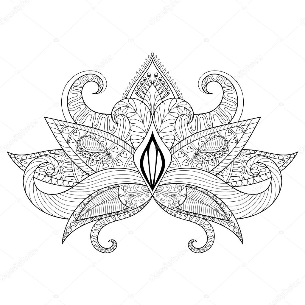 Indian Flower Drawing At Getdrawings Free For Personal Use