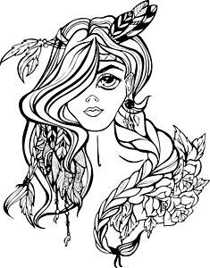 235x300 Indian Girl Drawings