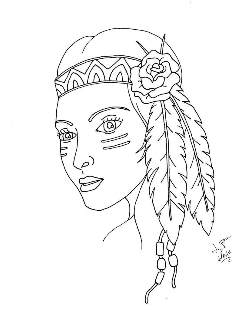 766x1044 Indian Girl By Itsanocean
