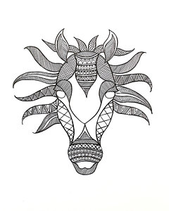 240x300 Indian Head Drawings Fine Art America