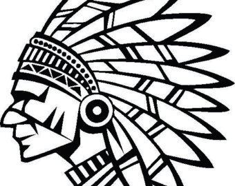 340x270 Indian Chief Decal Etsy