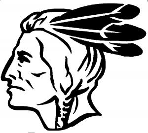 300x270 Native American Indian Head Car Or Truck Window Decal Sticker