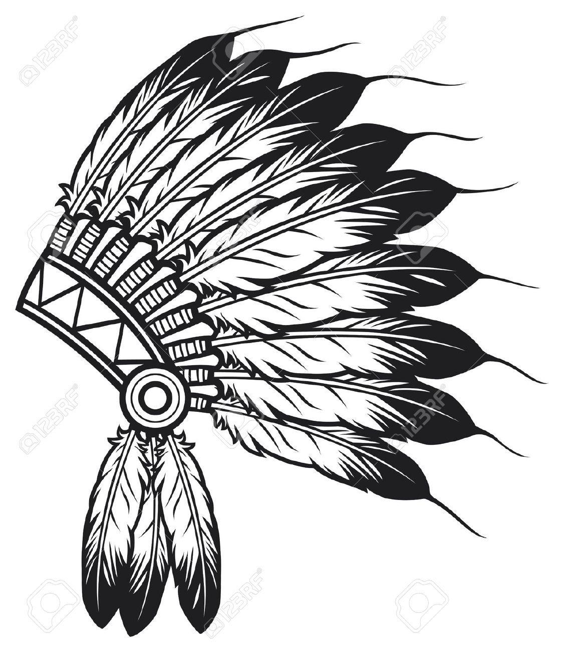1126x1300 Indian Chief Headdress Navajo Wood Burning