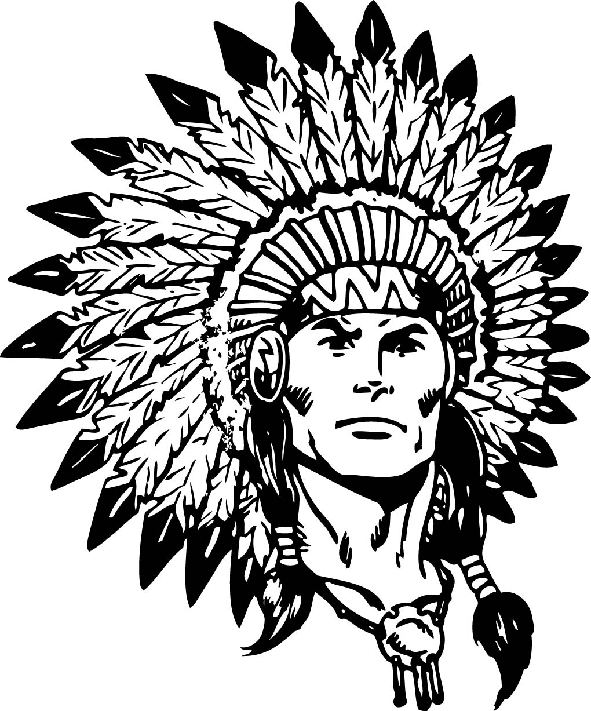 1020x1227 Indian Head Mascot