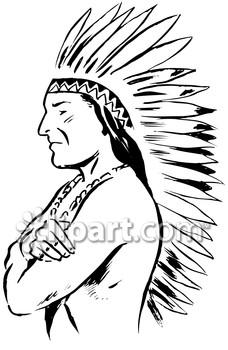 228x350 Aborigines Clipart Indian Headdress
