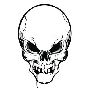 300x300 Indian Skull Clip Art Vector Indian Graphics Clipart Me
