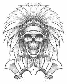 236x295 Skullheaddress By Herrerabrandon60 On Guaton Tattoo