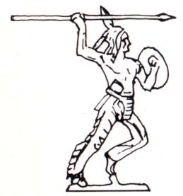 259x277 Indian Throwing Spear