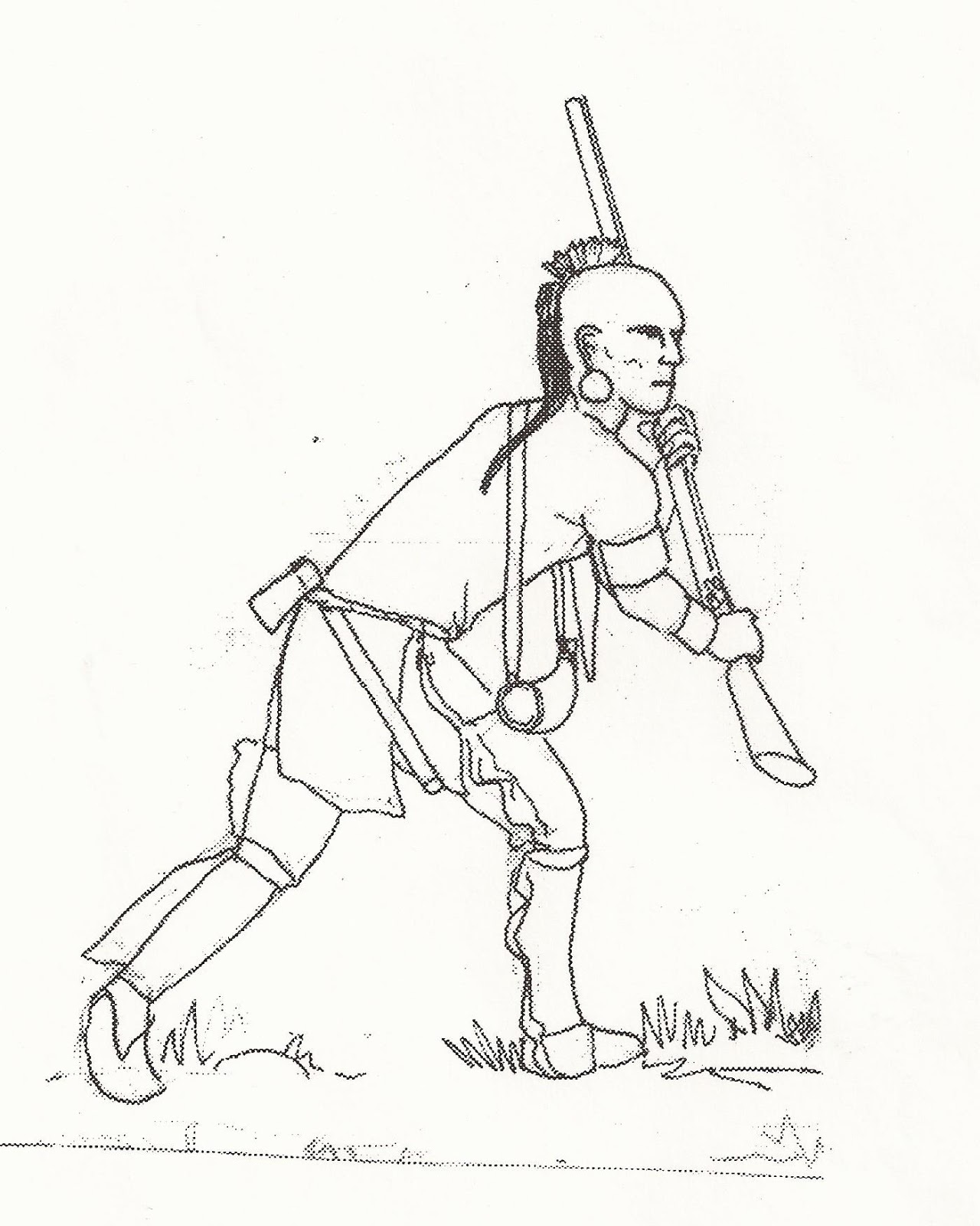 1280x1600 Flintlock And Tomahawk French And Indian War By Ralph Mitchard