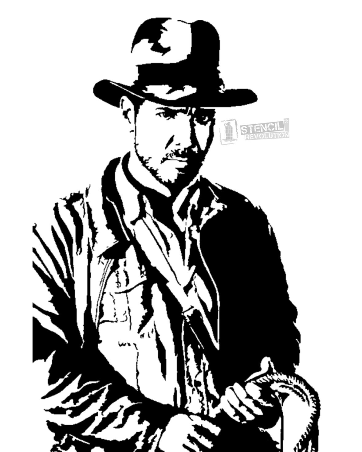 1178x1472 Indiana Jones Stencils Printable Stencils, Stenciling