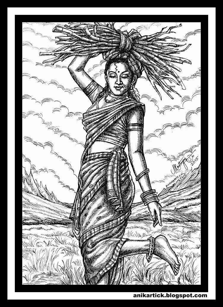 752x1034 Heritage Art Indian Heritage Tamil Heritage Heritage Artist