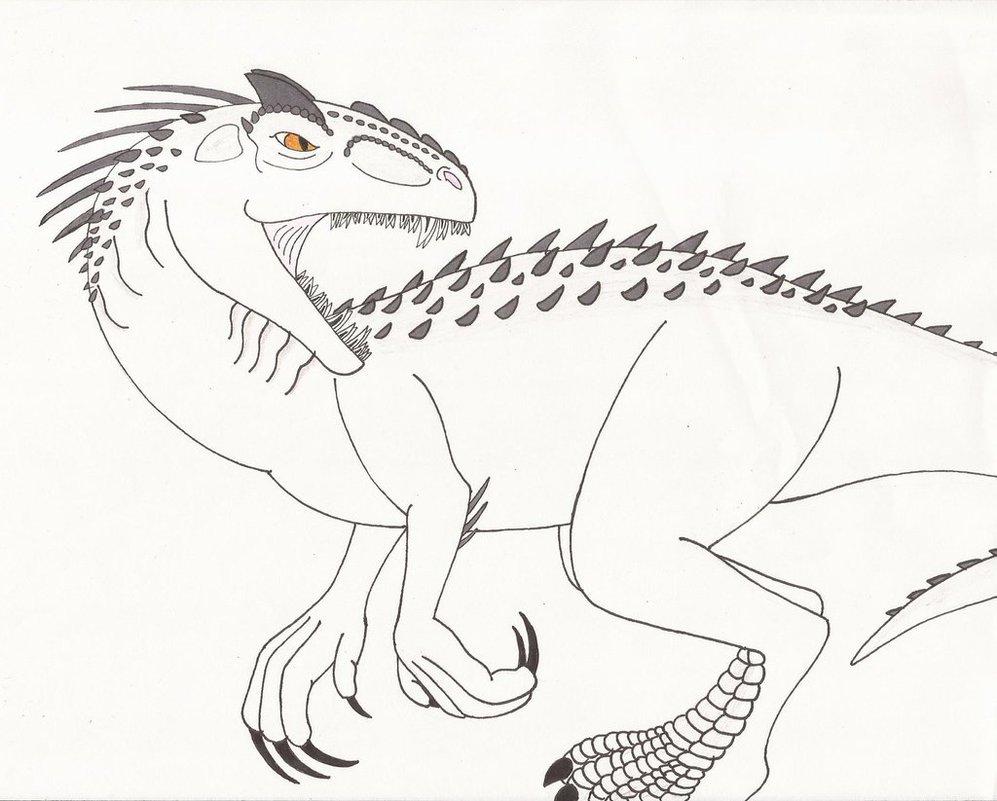 997x801 Indominus Rex By Kiinastar