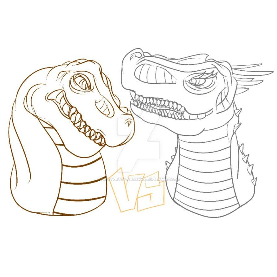 894x894 T Rex Vs Indominus Rex By Prettykittygoesrawr