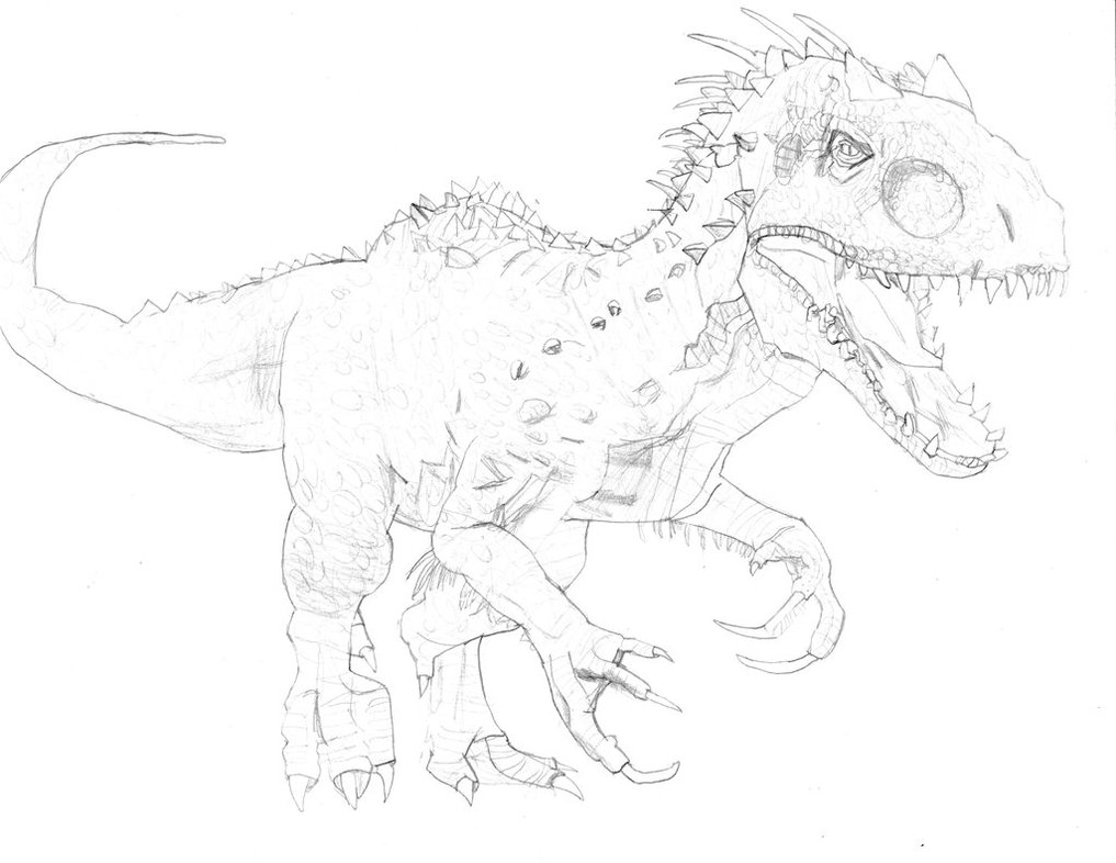 The Best Free Indominus Drawing Images Download From 102 Free
