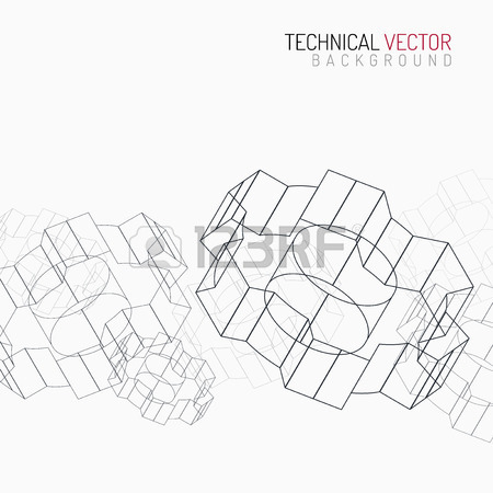 450x450 Gears Linear Graphic, Abstract Industrial Design, Mechanical