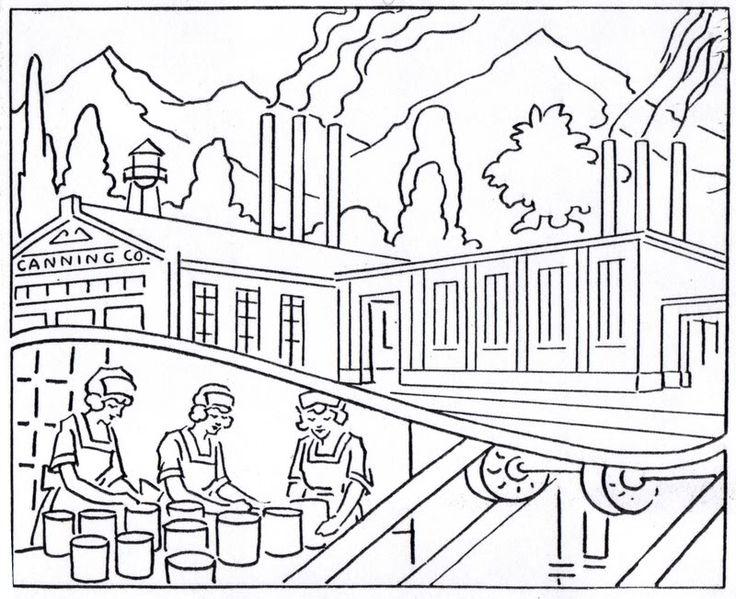 Industrial Revolution Drawing
