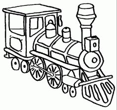 236x222 Steam Train Drawing