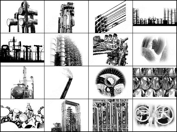 598x448 Industrial Drawing Photoshop Brushes Download (22 Photoshop