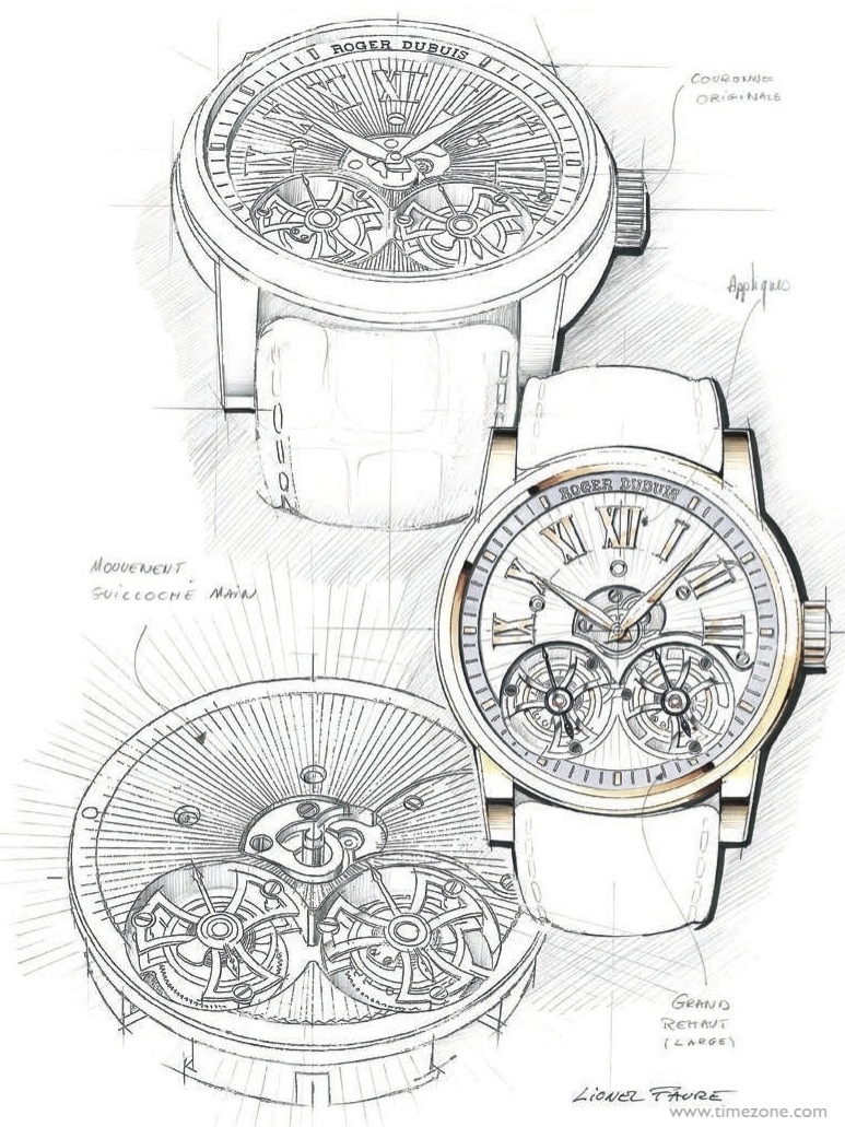 773x1031 Timezone Industry News Sihh 2014 Roger Dubuis Hommage Double