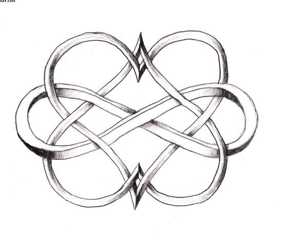 Infinity Symbol Drawing At Getdrawings Free For Personal Use