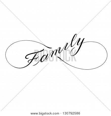 450x470 Infinity Family Icon Valentines Vector Amp Photo Bigstock