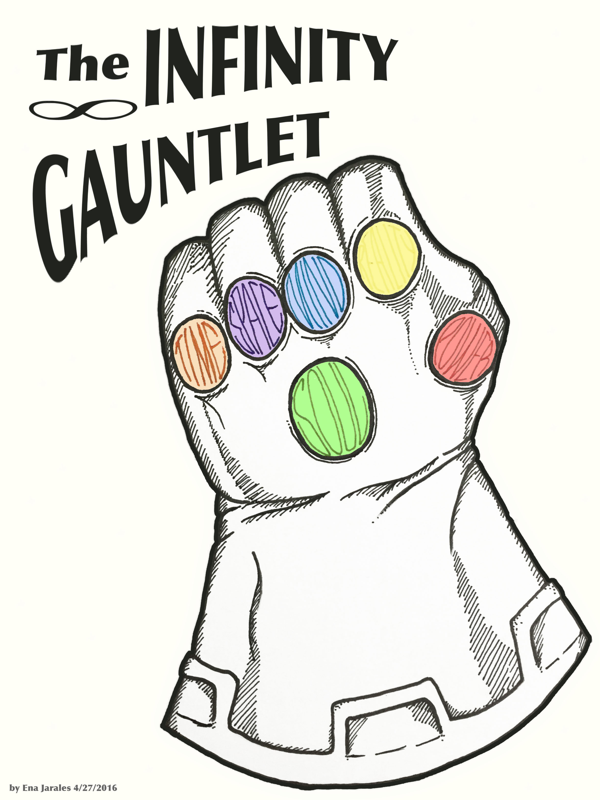 2448x3264 Infinity Gauntlet Fly(Er) On The Wall
