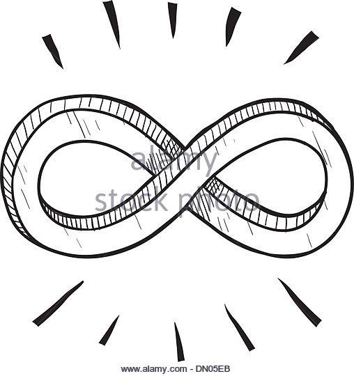 508x540 Infinity Symbol Drawing Stock Photos Amp Infinity Symbol Drawing