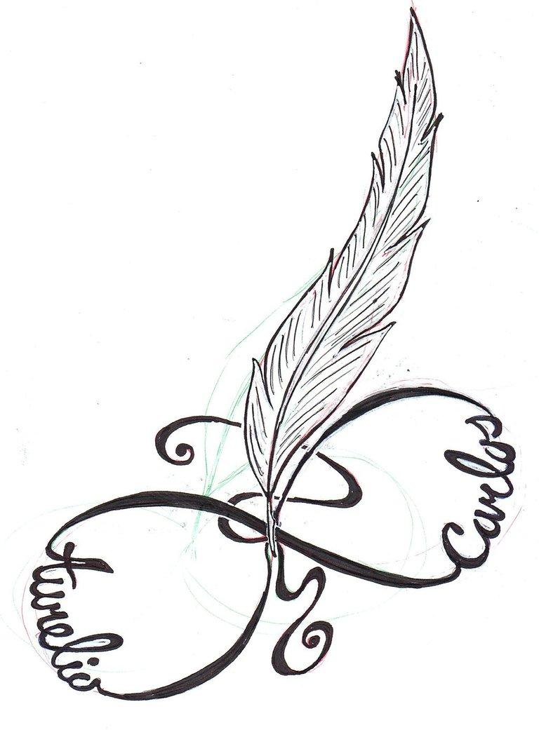 768x1041 Infinity Tattoo