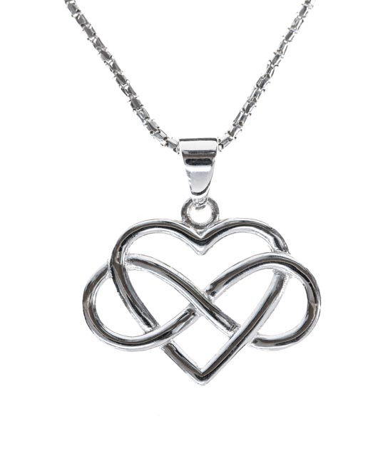 537x640 Infinity Jewellery Infinity Wrap Around Heart Pendant My Style