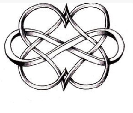 444x377 Infinity Times Infinity Hearts Tattoo Ideas