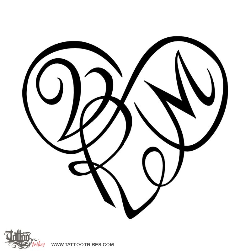800x800 Tattoo Of V r m Heart, Eternal Bond Tattoo