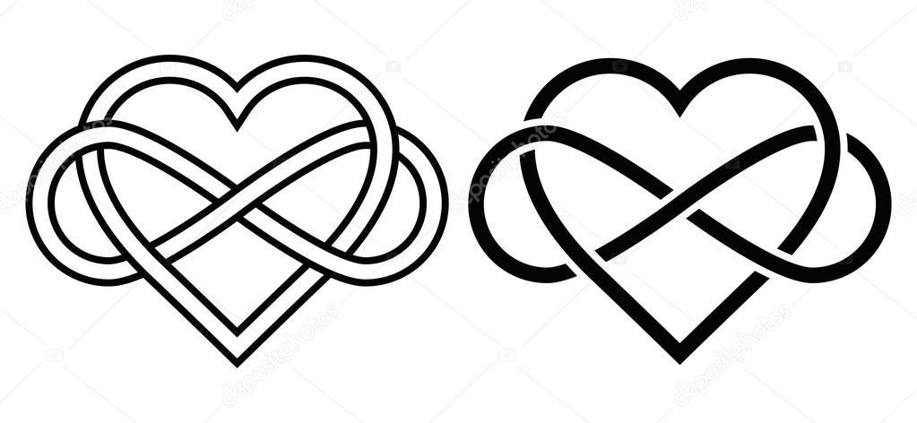 1023x472 Infinity Sign With Heart
