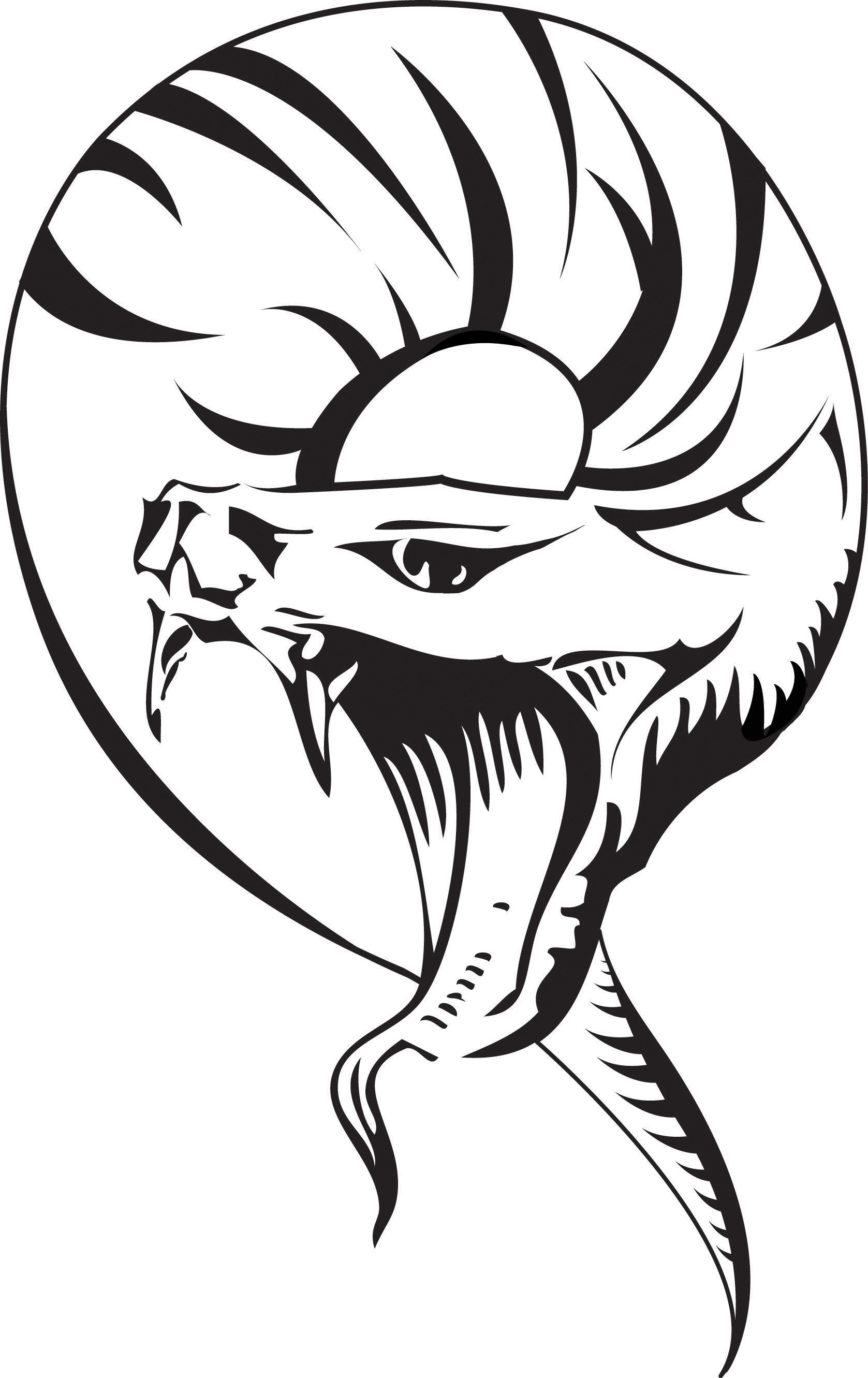 1677x2662 Tibal Snake Tattoos Tribal Snake Design Tattoos Information