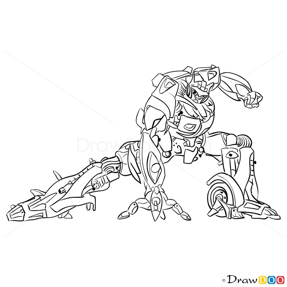 1000x999 How To Draw Jazz, Transformers