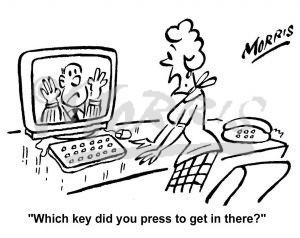 300x238 Information Technology Cartoons Business Cartoons