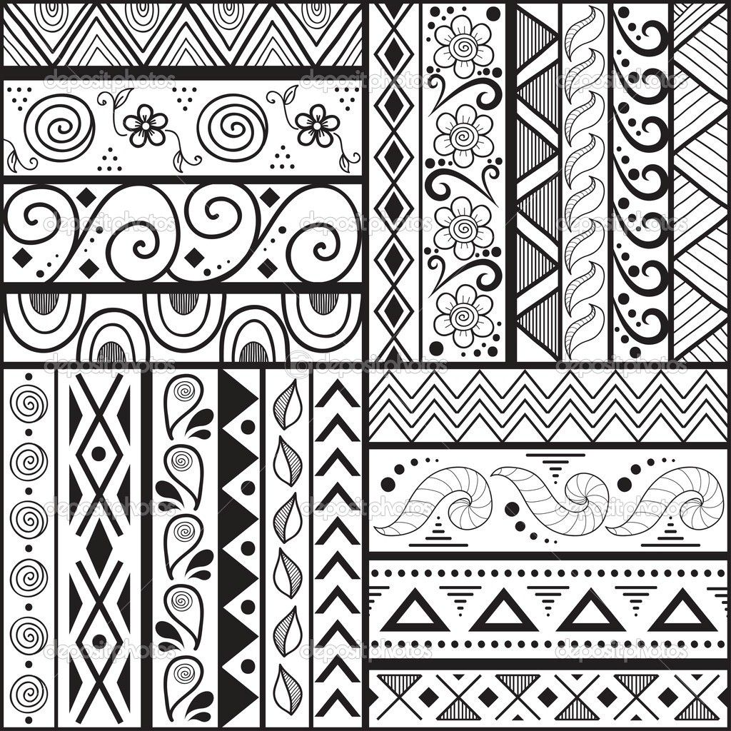 1024x1024 Easy Patterns To Draw