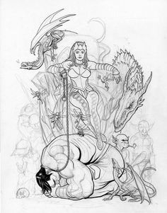 236x301 Jay H Bomb Tutorials Frank Cho, Sketches And Artwork