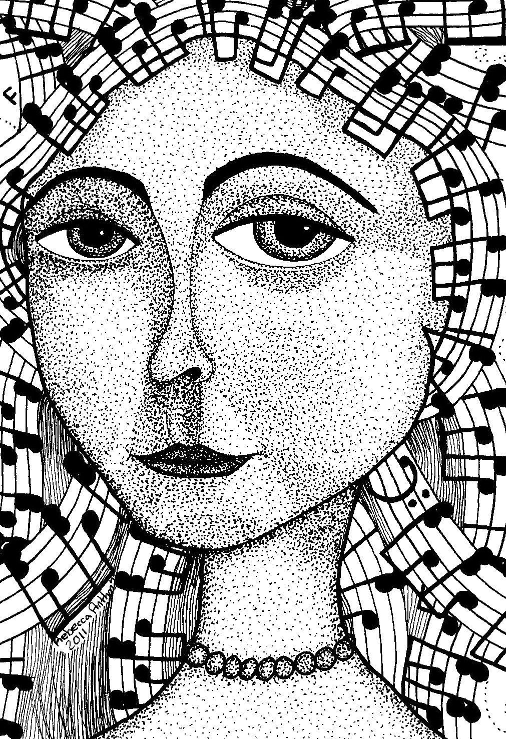 1011x1477 Pen And Ink Art Class Zentangle Ink Art, Art Club