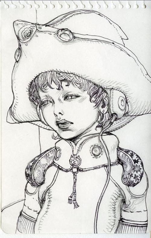 500x785 Sketch Katsuya Terada Sketches
