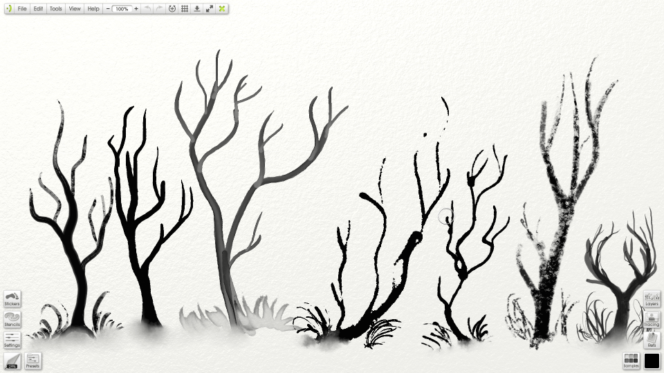 960x540 Tool Settings For Realistic Inking In Artrage