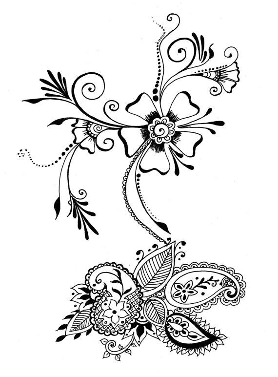 Inkpen Drawing
