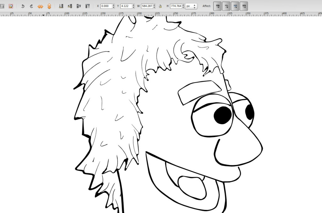 1024x679 Inking In Inkscape With The Calligraphy And Tweak Tools Dototot