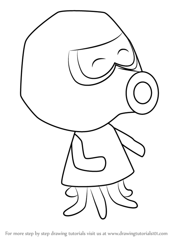 567x800 Learn How To Draw Inkwell From Animal Crossing (Animal Crossing