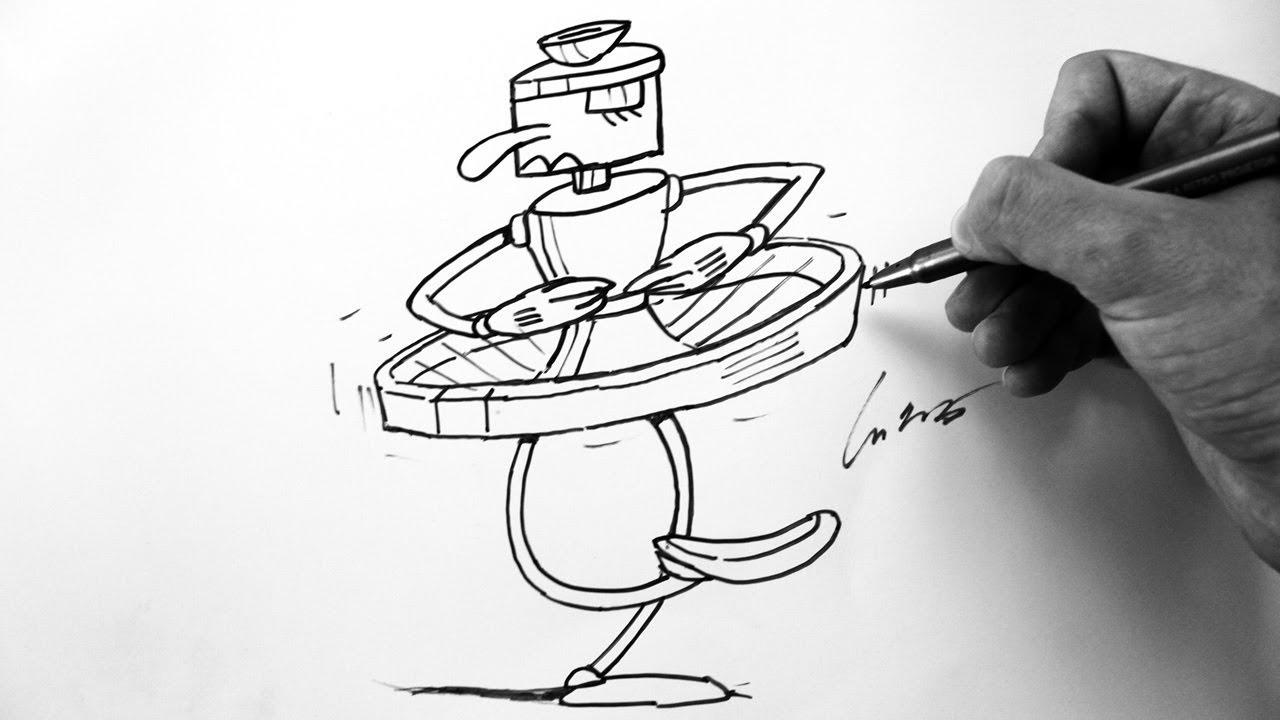 1280x720 Como Desenhar Pirouletta Sub Boss [Cuphead Inkwell Hell]