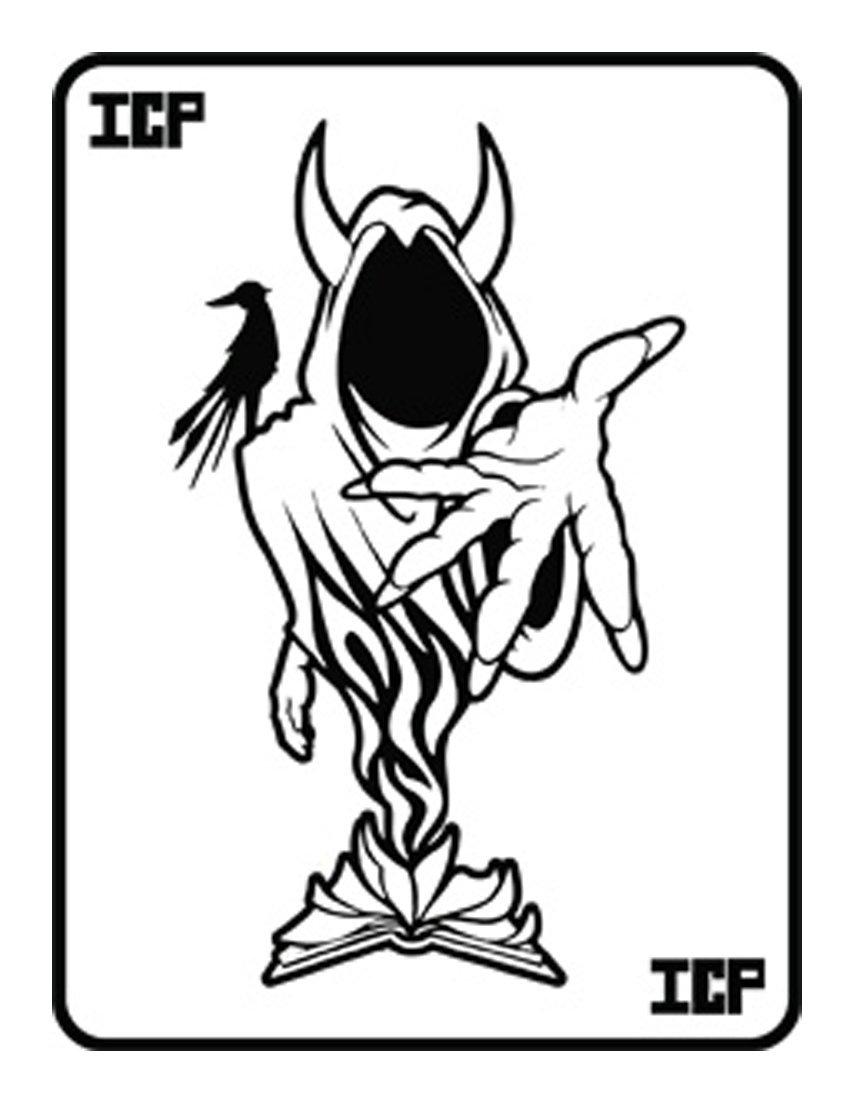 insane clown posse coloring pages - photo#16